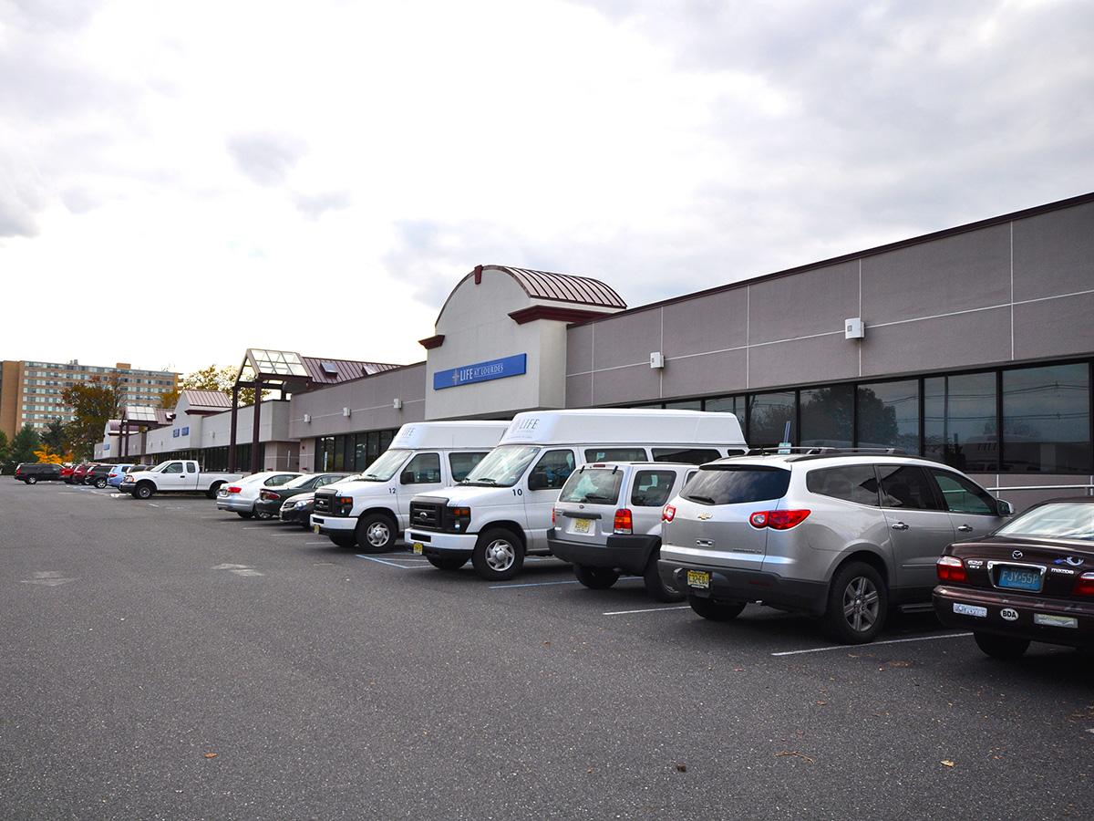 Kevon 2 office parking lot